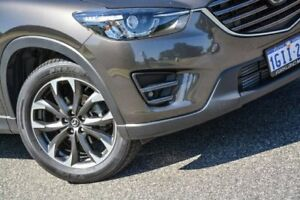 2017 Mazda CX-5 KE1022 Akera SKYACTIV-Drive i-ACTIV AWD Silver 6 Speed Sports Automatic Wagon
