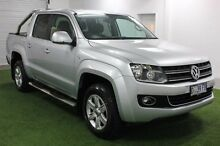 2013 Volkswagen Amarok 2H MY13 TDI420 4Motion Perm Highline Silver 8 Speed Automatic Utility Moonah Glenorchy Area Preview