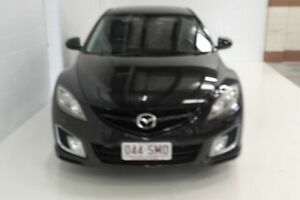 2009 Mazda 6 GH1051 MY09 Luxury Black 5 Speed Sports Automatic Hatchback Toowoomba Toowoomba City Preview