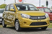 2015 Suzuki Celerio LF GL Yellow 1 Speed Constant Variable Hatchback Blacktown Blacktown Area Preview