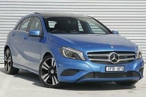 2015 Mercedes-Benz A200 176 MY15 BE Blue 7 Speed Sports Automatic Dual Clutch Hatchback Ringwood East Maroondah Area Preview