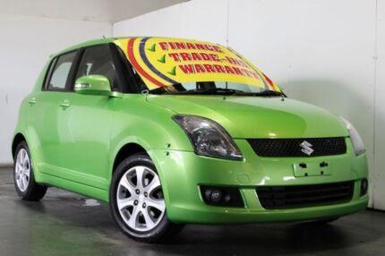 2010 Suzuki Swift EZ Extreme Green 4 Speed Automatic Hatchback Underwood Logan Area Preview