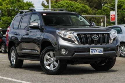2015 Toyota Landcruiser Prado Grey Sports Automatic Wagon Welshpool Canning Area Preview