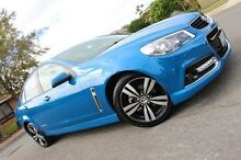 2015 Holden Commodore VF MY15 SV6 Storm Blue 6 Speed Sports Automatic Sedan Nailsworth Prospect Area Preview