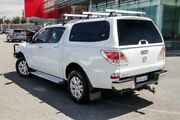 2013 Mazda BT-50 XTR (4x2) White 6 Speed Automatic Dual Cab Utility Wangara Wanneroo Area Preview