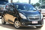 2014 Holden Barina Spark MJ MY14 CD Black 4 Speed Automatic Hatchback Moorooka Brisbane South West Preview