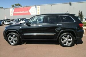 2012 Jeep Grand Cherokee WK MY2012 Limited Black 5 Speed Sports Automatic Wagon