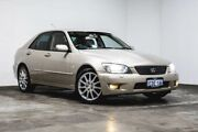 2005 Lexus IS200 GXE10R MY04.5 Sports Luxury Gold 4 Speed Automatic Sedan Welshpool Canning Area Preview