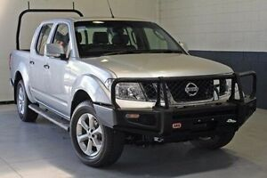 2012 Nissan Navara D40 S6 MY12 ST Silver 6 Speed Manual Utility Hillcrest Port Adelaide Area Preview
