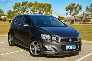 2016 Holden Barina TM MY16 RS Grey 6 Speed Manual Hatchback