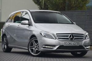 2014 Mercedes-Benz B200 W246 DCT Silver 7 Speed Sports Automatic Dual Clutch Hatchback Artarmon Willoughby Area Preview