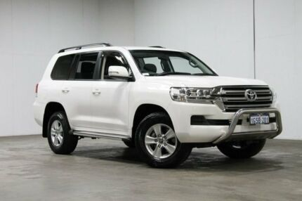 2016 Toyota Landcruiser VDJ200R GXL White 6 Speed Sports Automatic Wagon Welshpool Canning Area Preview
