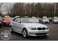 BMW 1 SERIES 2.0 118D SPORT 2d AUTO 141 BHP (silver) 2012