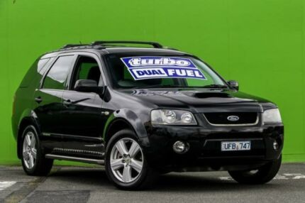2006 Ford Territory SY Turbo AWD Black 6 Speed Sports Automatic Wagon Ringwood East Maroondah Area Preview