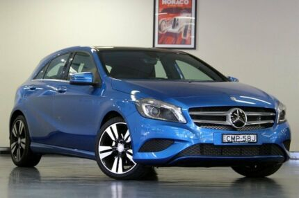 2013 Mercedes-Benz A200 W176 D-CT Blue 7 Speed Sports Automatic Dual Clutch Hatchback North Willoughby Willoughby Area Preview