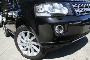 2014 Land Rover Freelander 2 LF MY14 SD4 HSE (4x4) Black 6 Speed Automatic Wagon Petersham Marrickville Area Preview