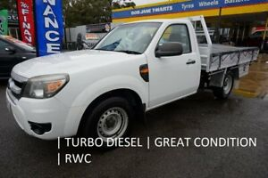 2010 Ford Ranger PK XL 4x2 Cool White 5 Speed Manual Cab Chassis Dandenong Greater Dandenong Preview