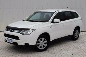 2012 Mitsubishi Outlander White Constant Variable Wagon Embleton Bayswater Area Preview