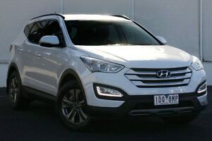2014 Hyundai Santa Fe DM2 MY15 Active White 6 Speed Sports Automatic Wagon Upper Ferntree Gully Knox Area Preview
