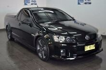 2008 Holden Ute VE SV6 Black Sports Automatic Utility Blair Athol Campbelltown Area Preview