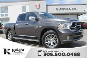 2017 Ram 1500 Limited - Navigation - Heated/Cooled leather Seats