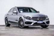 2015 Mercedes-Benz C200 W205 7G-Tronic + Silver 7 Speed Sports Automatic Sedan Welshpool Canning Area Preview