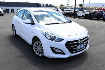 2015 Hyundai i30 GD3 Series II MY16 Active White 6 Speed Sports Automatic Hatchback Devonport Devonport Area Preview