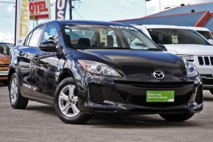 2013 Mazda 3 BL10F2 MY13 Neo Black/Grey 6 Speed Manual Sedan Hillcrest Logan Area Preview