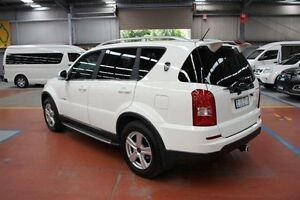 2013 Ssangyong Rexton Y285 II MY10 RX270 XVT SPR White 5 Speed Sports Automatic Wagon Maryville Newcastle Area Preview