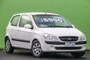 2010 Hyundai Getz TB MY09 S White 5 Speed Manual Hatchback Ringwood East Maroondah Area Preview
