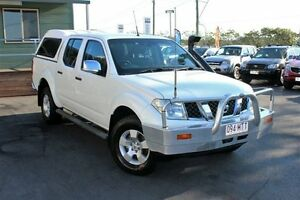 2007 Nissan Navara D40 ST-X White 5 Speed Automatic Utility Wakerley Brisbane South East Preview