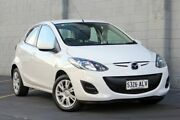 2011 Mazda 2 DE10Y1 MY11 Neo White 5 Speed Manual Hatchback Wayville Unley Area Preview