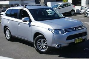 2012 Mitsubishi Outlander ZJ MY13 LS 2WD Silver 6 Speed Constant Variable Wagon Brookvale Manly Area Preview