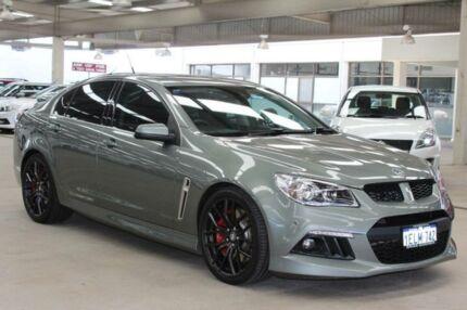 2013 Holden Special Vehicles Clubsport GEN F R8 Prussian Steeljet Black Leathe 6 Speed
