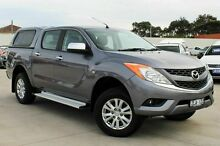 2012 Mazda BT-50 UP0YF1 XTR Grey 6 Speed Manual Utility Craigieburn Hume Area Preview
