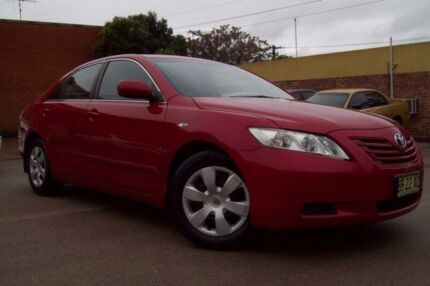 2007 Toyota Camry ACV40R Altise Maroon 5 Speed Automatic Sedan