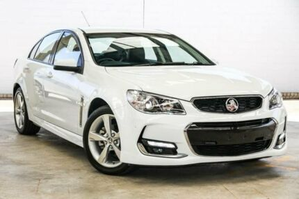2016 Holden Commodore VF II SV6 White 6 Speed Automatic Sedan