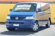 2005 Volkswagen Kombi T5 Low Roof Royal Blue 6 Speed Sports Automatic Van Heatherton Kingston Area Preview