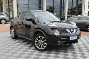 2015 Nissan Juke F15 Series 2 Ti-S X-tronic AWD Black 1 Speed Constant Variable Hatchback
