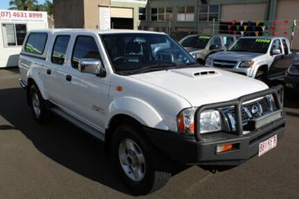 2010 Nissan Navara D22 MY2009 ST-R White 5 Speed Manual Utility