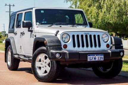 2011 Jeep Wrangler JK MY2011 Unlimited 70th Anniversary Silver 4 Speed Automatic Hardtop Wangara Wanneroo Area Preview