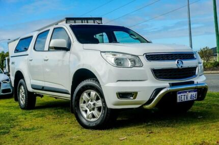 2015 Holden Colorado RG MY16 LT Crew Cab White 6 Speed Sports Automatic Utility Wangara Wanneroo Area Preview