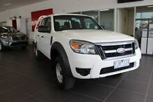 2010 Ford Ranger PK XLT Crew Cab Hi-Rider White 5 Speed Manual Utility Dandenong Greater Dandenong Preview