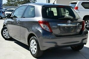 2014 Toyota Yaris NCP130R YR Grey 4 Speed Automatic Hatchback Pennant Hills Hornsby Area Preview