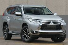 2015 Mitsubishi Pajero Sport QE Exceed (4x4) Silver 8 Speed Automatic Wagon Wolli Creek Rockdale Area Preview