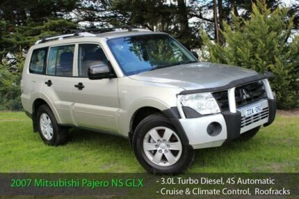 2007 Mitsubishi Pajero NS GLX LWB (4x4) Gold 5 Speed Auto Sports Mode Wagon Officer Cardinia Area Preview