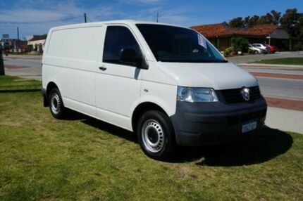 2010 Volkswagen Transporter T5 MY09 Low Roof White 6 Speed Auto Seq Sportshift Van Pearsall Wanneroo Area Preview