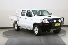 2007 Toyota Hilux KUN26R 07 Upgrade SR (4x4) White 5 Speed Manual Dual Cab Chassis Smithfield Parramatta Area Preview