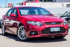 2013 Ford Falcon FG MkII XR6 Red 6 Speed Sports Automatic Sedan Myaree Melville Area Preview
