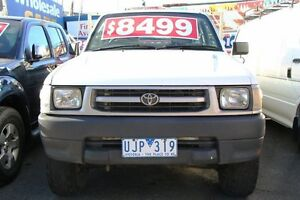 1998 Toyota Hilux LN167R (4x4) White 5 Speed Manual 4x4 Briar Hill Banyule Area Preview